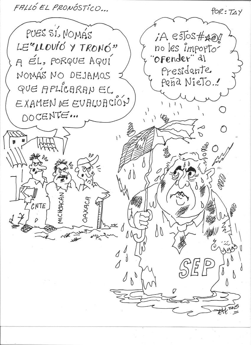 FALLO EL PRONOSTICO (22-jun-15) TAY