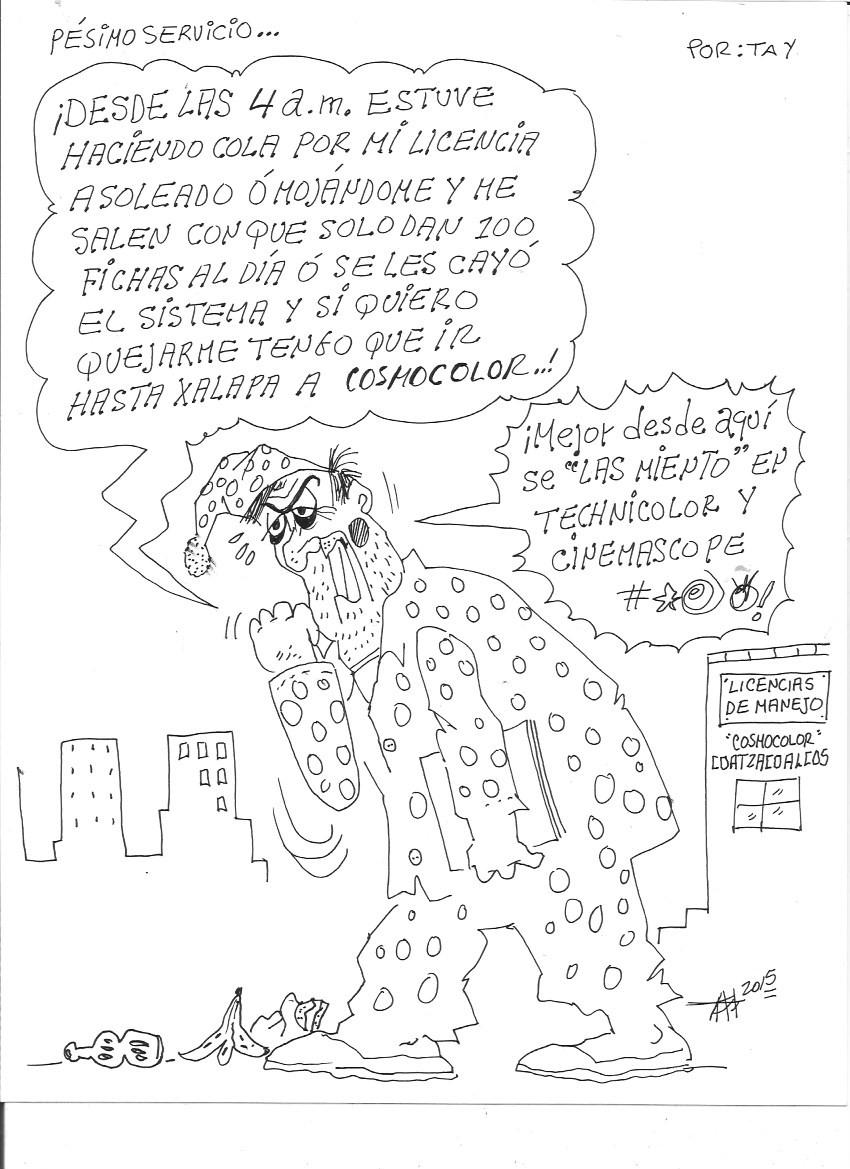 PESIMO SERVICIO (26-ago-15) Tay
