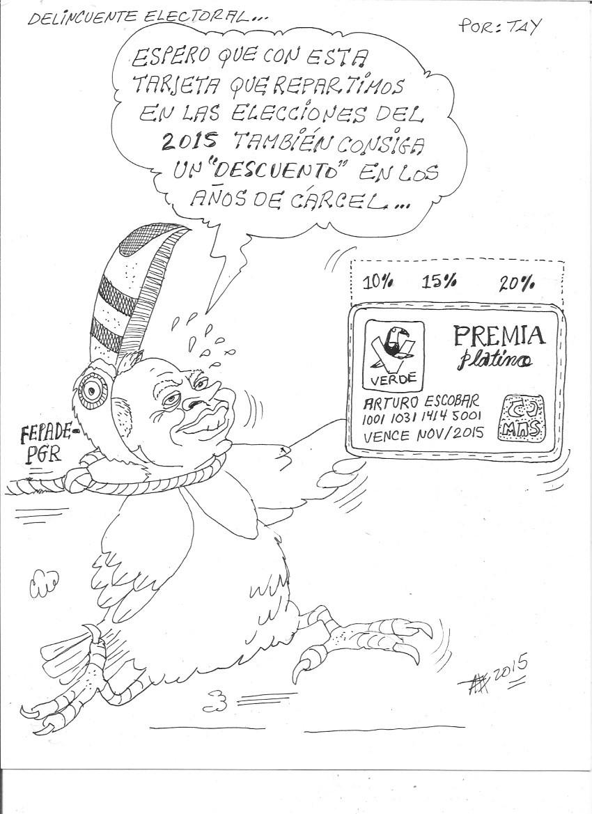 DELINCUENTE ELECTORAL (27-nov-15) Tay