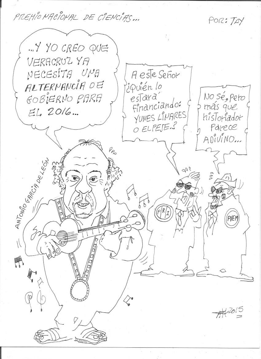 PREMIO NACIONAL DE CIENCIAS (18-dic-15) Tay