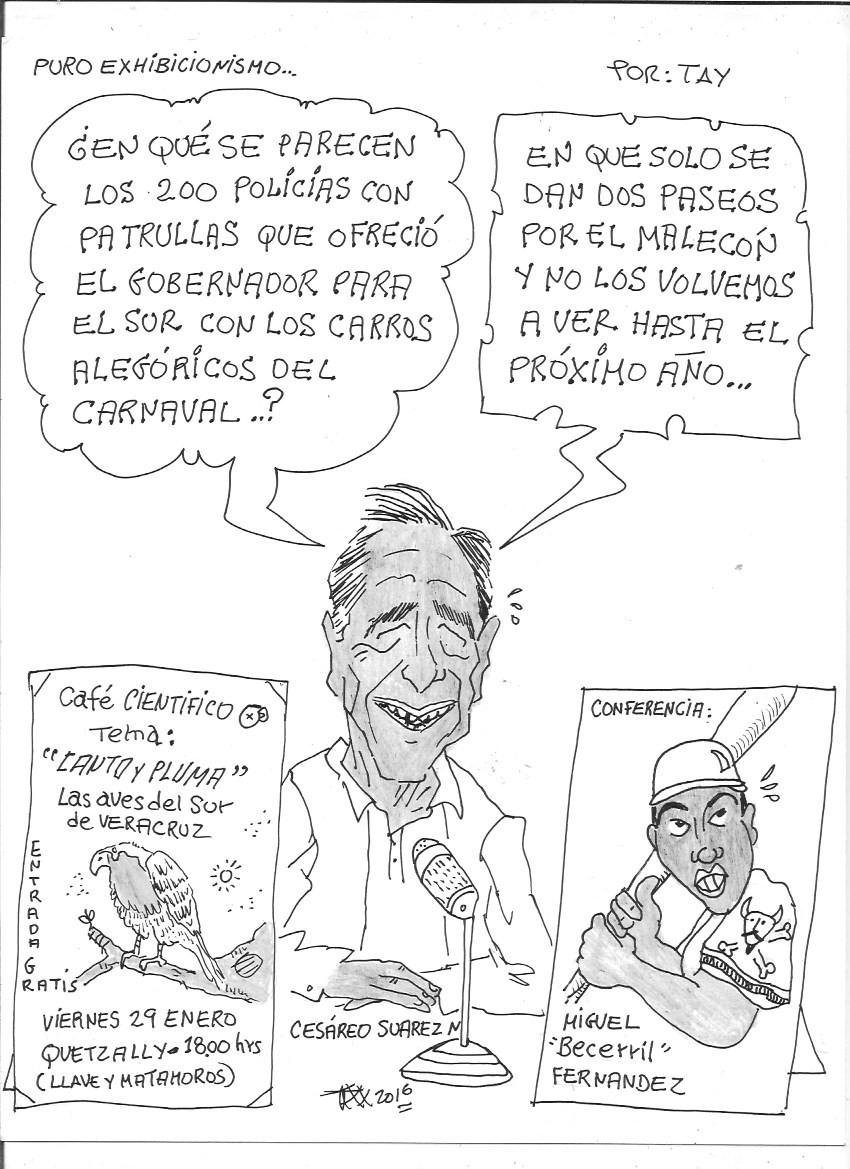 PURO EXHIBICIONISMO (29-ene-16) Tay